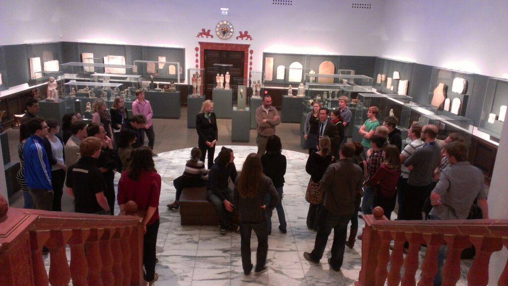 Guided tour in the Egyptian Museum Leipzig for the Konrad Adenauer Foundation